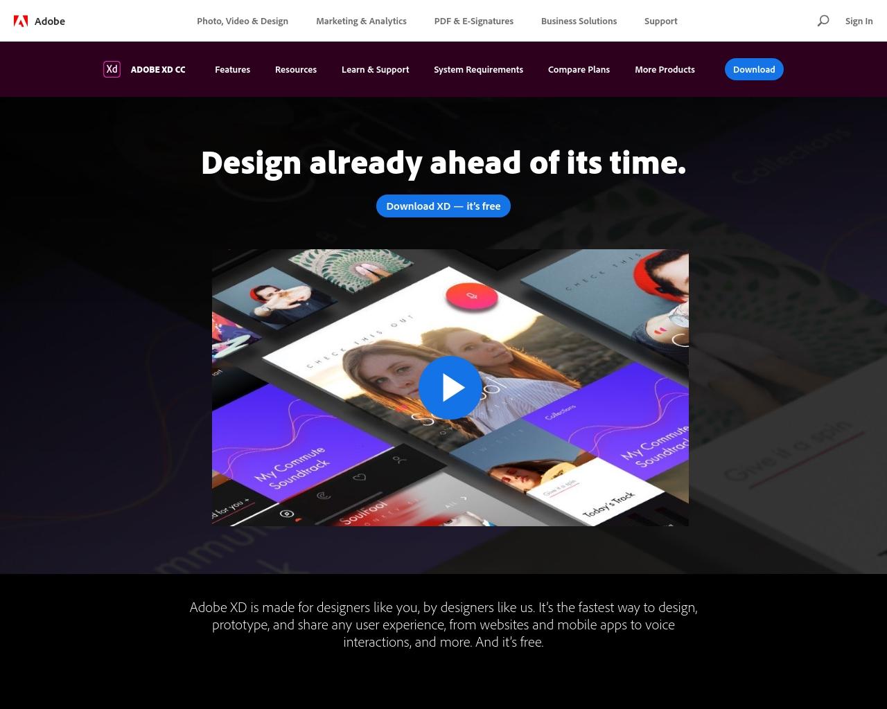 Adobe XD - Postmake